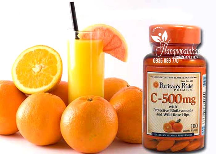 Puritan's Pride Vitamin C-500mg được điều chế dưới dây chuyền hiện đại từ những thành phần nguyên liệu tốt nhất, nhằm mang đến sản phẩm vitamin C chất lượng cao, và với hàm lượng phù hợp nhất cho một chế độ bổ sung dinh dưỡng hàng ngày