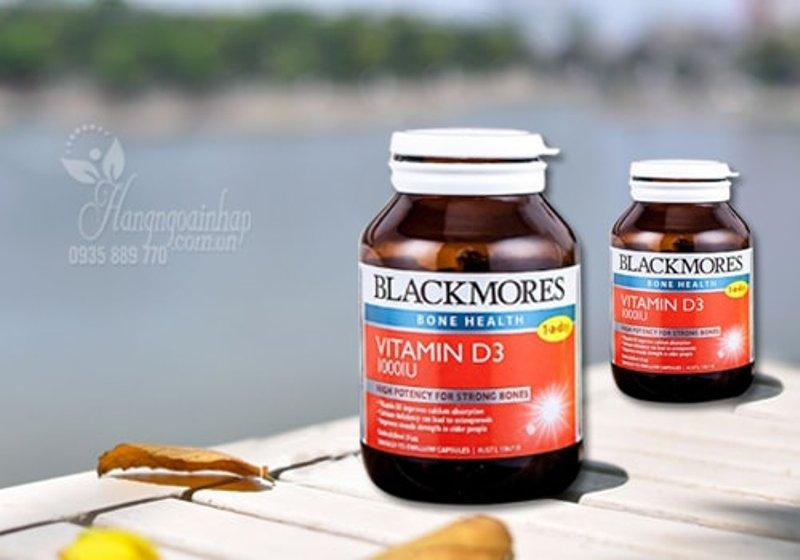 Viên Uống Vitamin D3 1000IU Blackmores Của Úc Hộp 200 Viên: