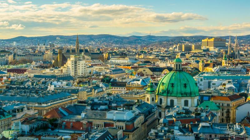 Choáng ngợp trước vẻ đẹp của Vienna