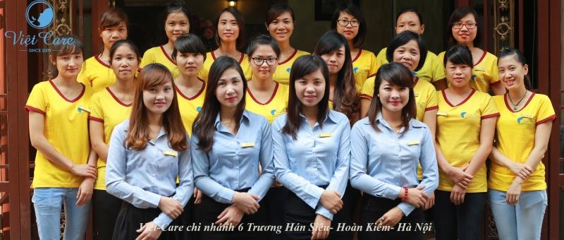 Đội ngũ nhân viên của Viet - Care