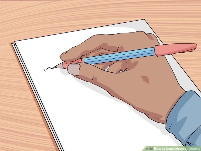 Ghi ra giấy những suy nghĩ