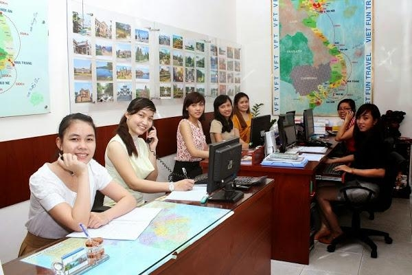 Nhân viên chuyên nghiệp của Viet Fun Travel