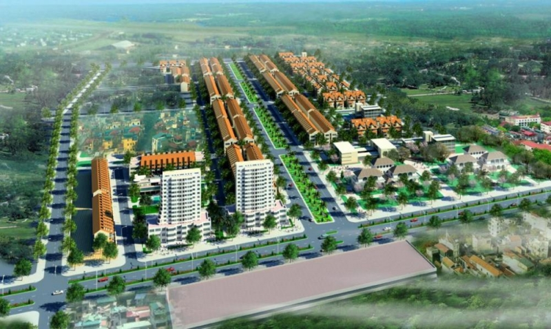 Toàn cảnh dự án Việt Long City