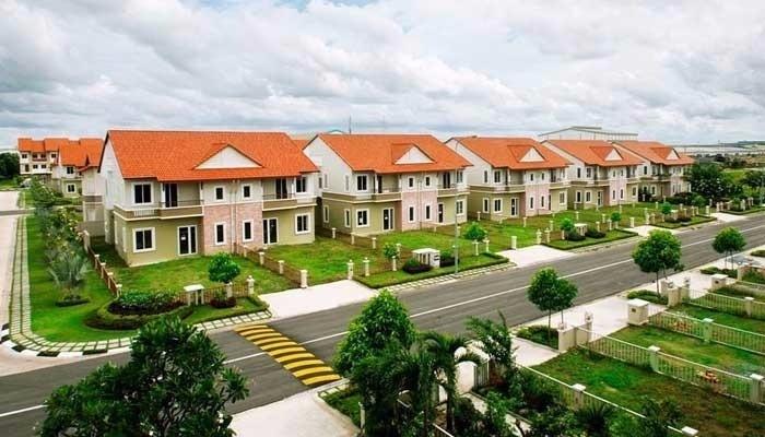 Khu dân cư trong dự án Việt Long City