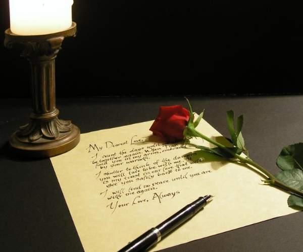 Hãy viết cho người yêu của bạn một lá thư tay