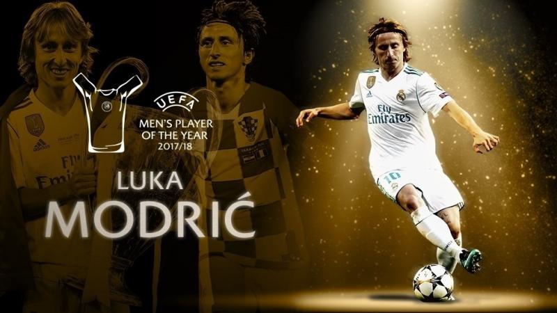 2018 là năm của Luka Modric