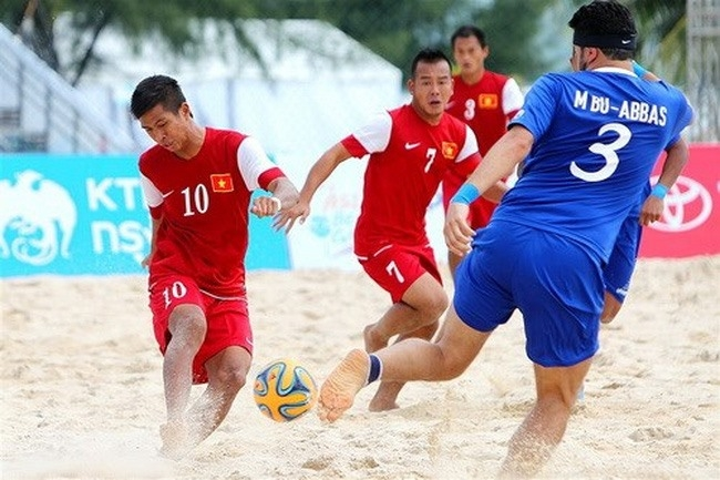Một giải đấu thành công của bóng đá bãi biển Việt Nam.