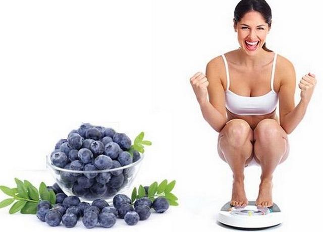 Một trái việt quất có chứa tới 83% là nước 17% còn lại là chất xơ.