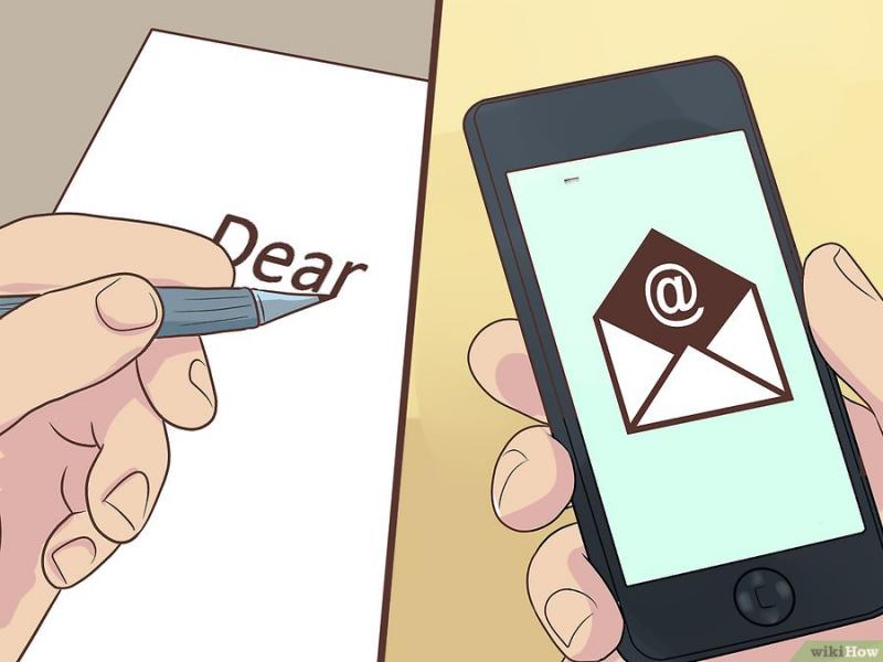 Viết thư hoặc email