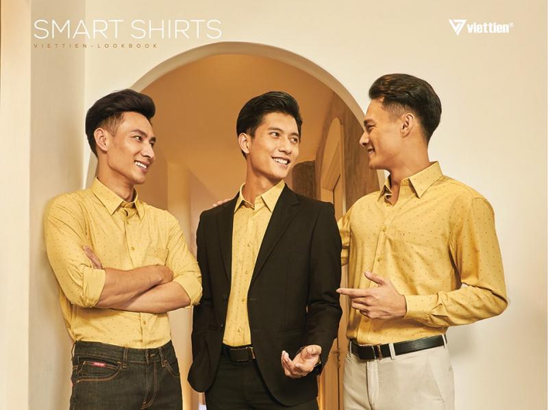 Thời trang nam Việt Tiến
