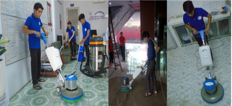 Dịch vụ tổng vệ sinh công ty, công trình, gia đình của Vietcarework.