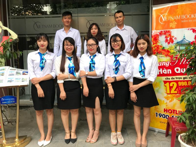Văn phòng của Vietnambooking.com tại Hà Nội