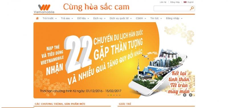 Nhà mạng Vietnamobile