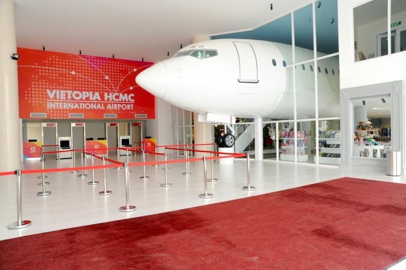 Vietopia là khu vui chơi hướng nghiệp lớn và hiện đại