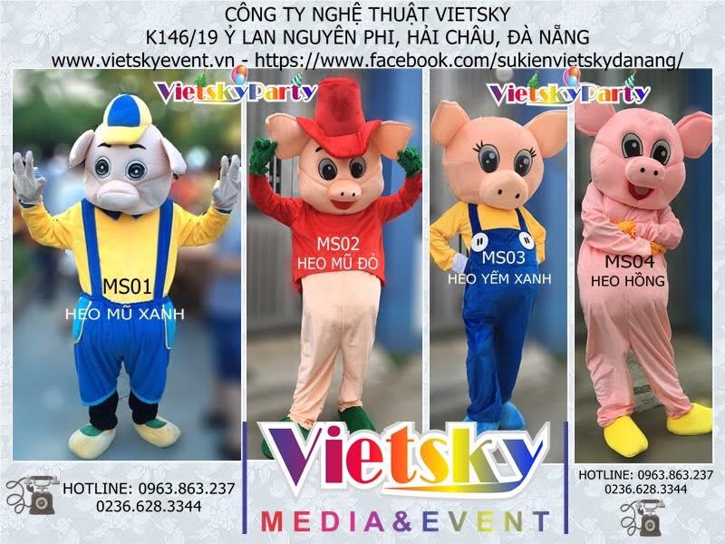 Vietsky - Cho thuê Mascot tại Đà Nẵng