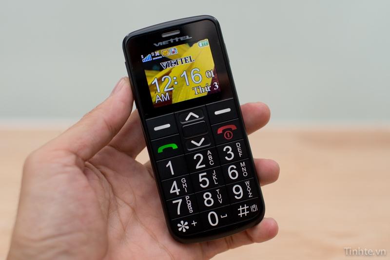 Viettel - V6216 - Chiếc điện thoại cho người già phù hợp nhất