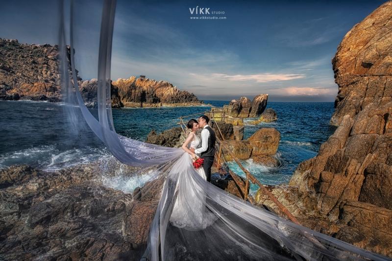 Ảnh cưới đẹp tại Víkk Studio