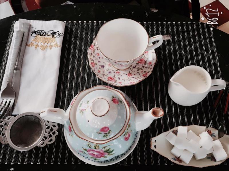 Villa Royale Antiques & Tea Room - Trà chiều phong cách cổ