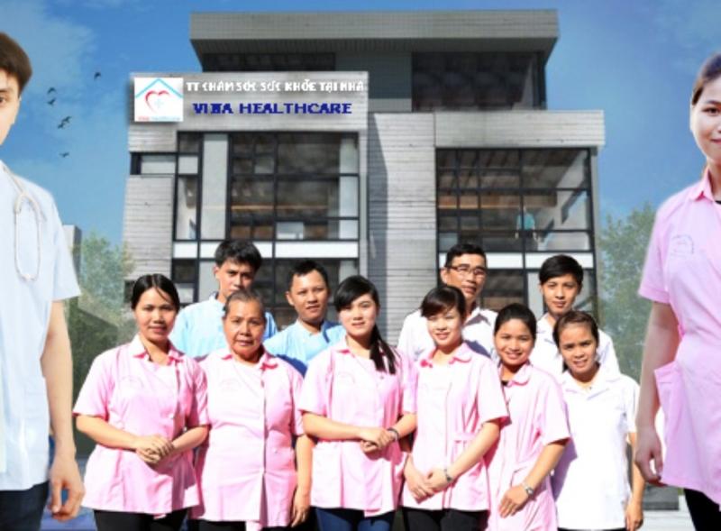 Đội ngũ bác sỹ, y tá của Vina Hearthcare. Ảnh sưu tầm.