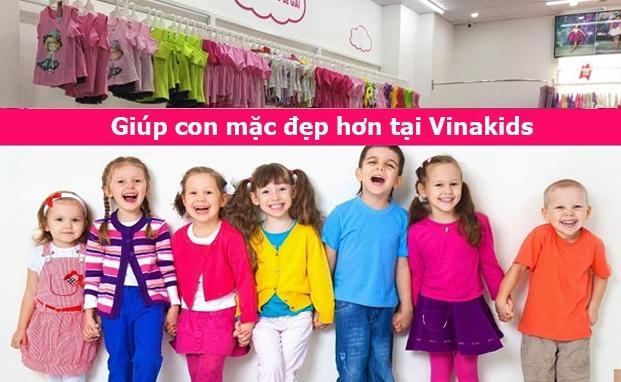 Vinakids là nhà phân phối bán buôn xuất khẩu quần áo trẻ em được rất nhiều bà mẹ chọn lựa