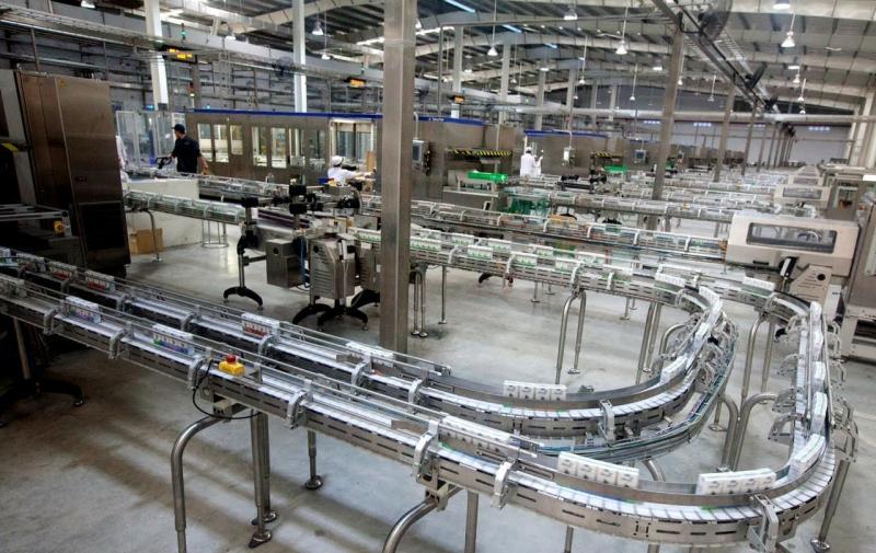 Dây chuyền sản xuất sữa hiện đại của Vinamilk