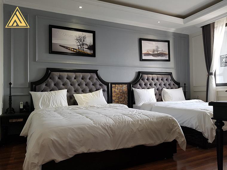 Nội thất phòng ngủ khách sạn Malisa Hotel & Apartment