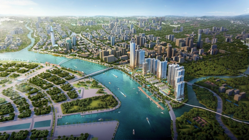 Vinhomes Ba Son is considered one of the most famous urban areas in the city.  Ho Chi Minh City