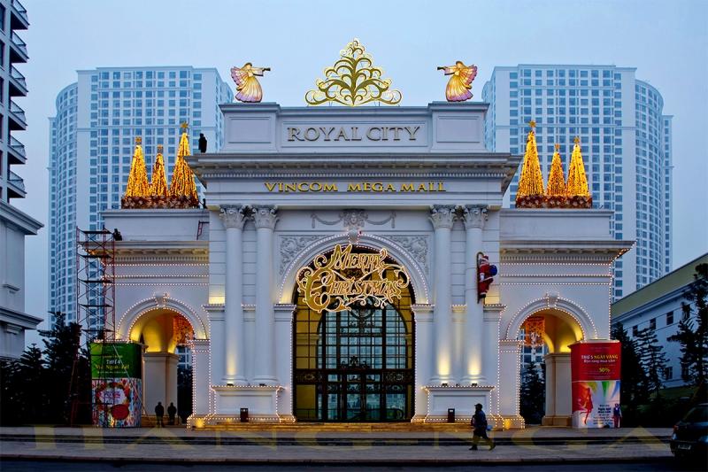 Thành phố hoàng gia Royal City tọa lạc ngay tại Hà Nội