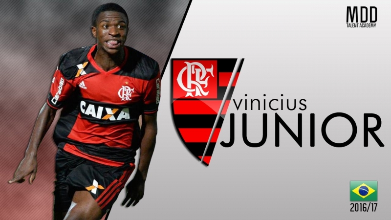 Vinicius Junior đến Real Madrid