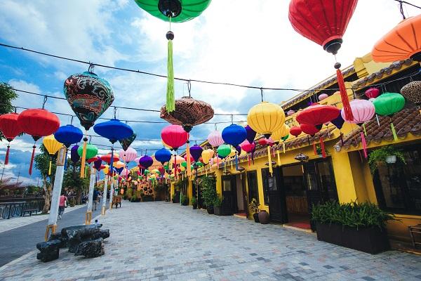 Tại Vinpearl Nam Hội An có rất nhiều góc check-in đẹp
