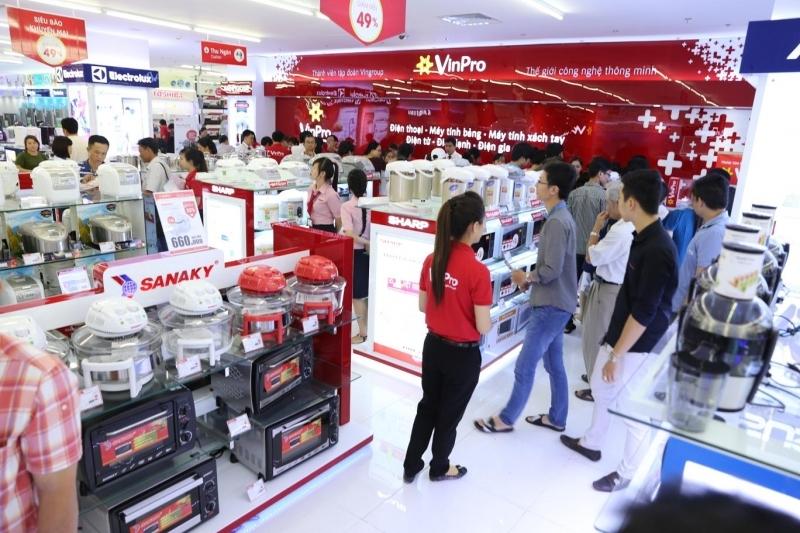 Cửa hàng thuộc hệ thống của VinPro