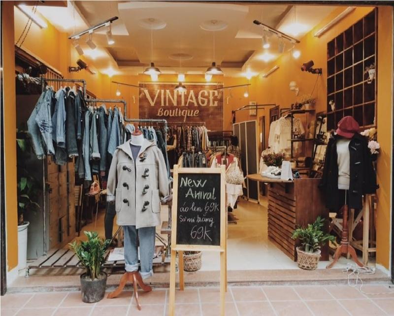 Địa chỉ mua quần áo nam nữ rẻ đẹp tại Hà Nội - Vintage Boutique