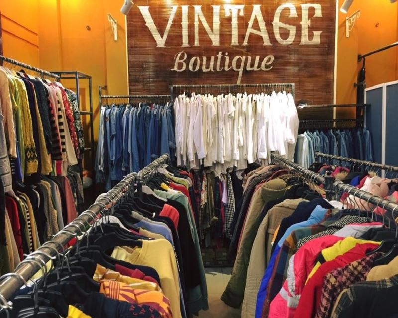 Không gian bên trong Vintage Boutique