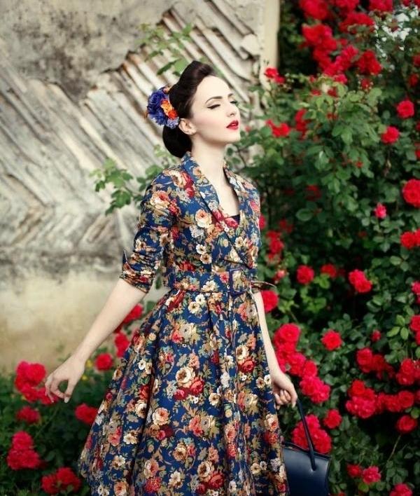 Phong cách vintage là một điển hình cho thấy sẽ khiến bạn trẻ hơn tuổi
