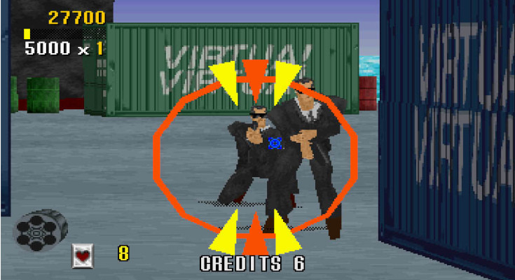 Tựa game Virtua Cop
