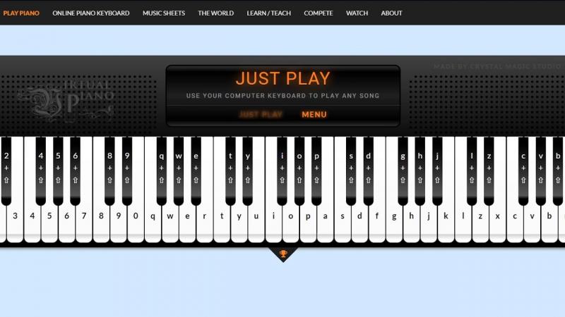 Virtual Piano truyền bá niềm vui chơi đàn Piano