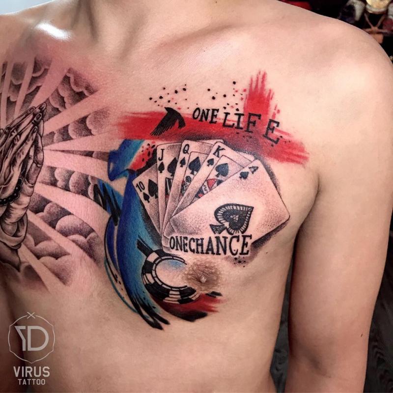 Virus Tattoo