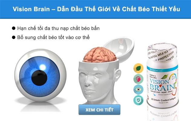 Vision Brain được sản xuất đặc biệt với lớp vỏ chỉ tan trong ruột giúp cơ thể hấp thu dinh dưỡng được tối đa.
