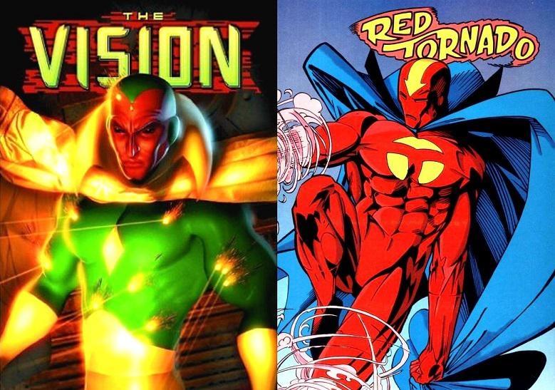 Vision và Red Tornado