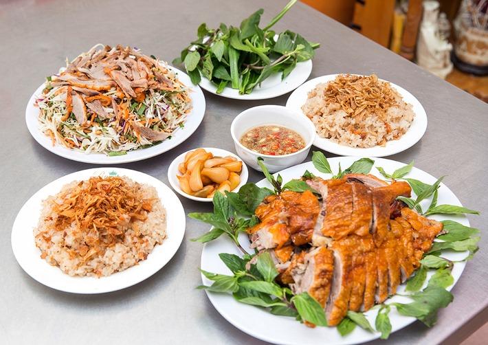 Các món ăn đặc sắc tại Vịt 29