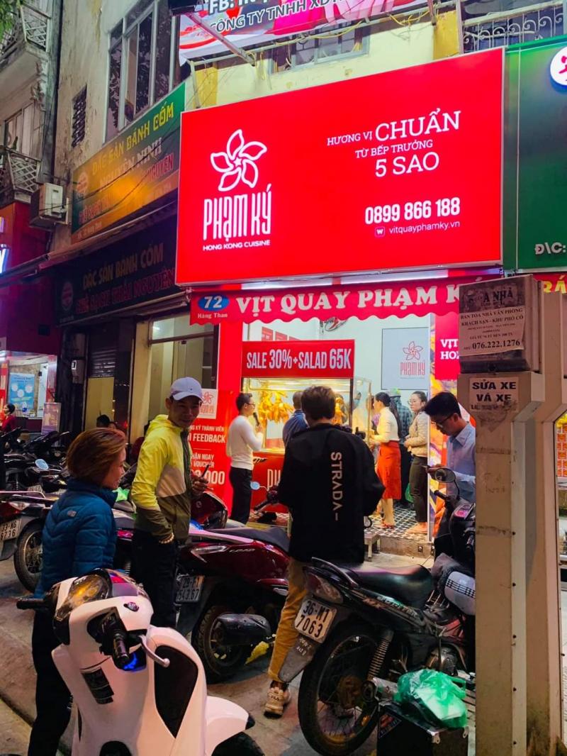 Vịt HongKong Phạm Ký