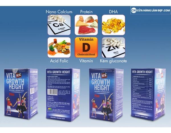 Viên uống Vita Growth Height của Mỹ