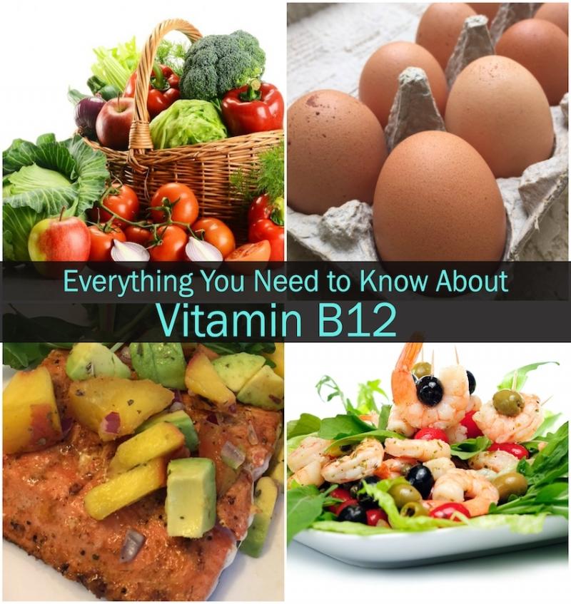 Nhóm thực phẩm chứa Vitamin B12