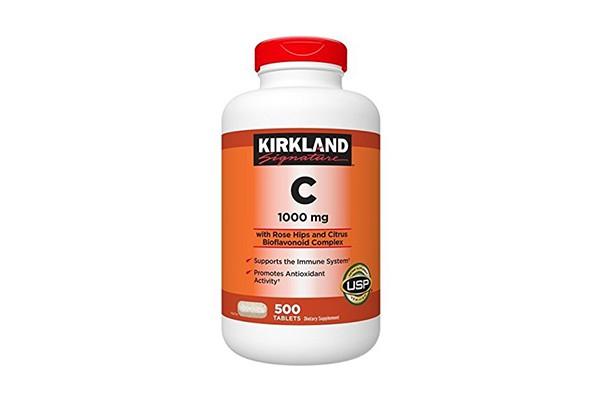 Vitamin C 1000mg Kirkland 500 viên của Mỹ