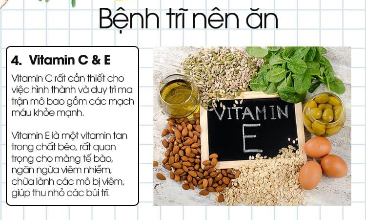 Vitamin C và Vitamin E
