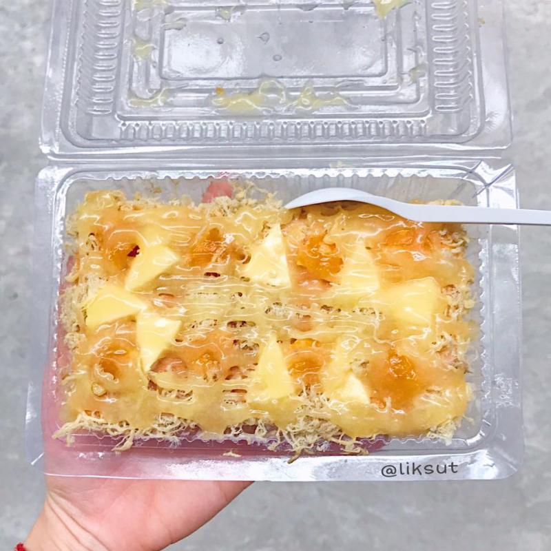 Cận cảnh hộp bánh thơm ngon của Vitamin Cake