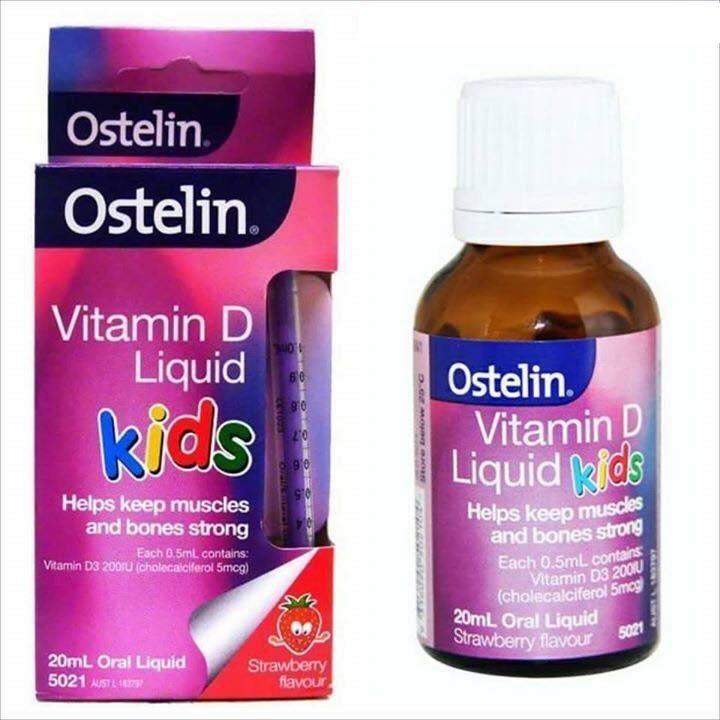 Vitamin D Ostelin dạng nước cho trẻ sơ sinh và trẻ em