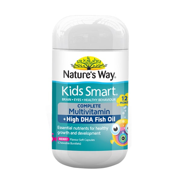 Nature's Way Kids Smart Complete Multivitamin, High DHA Fish Oil: