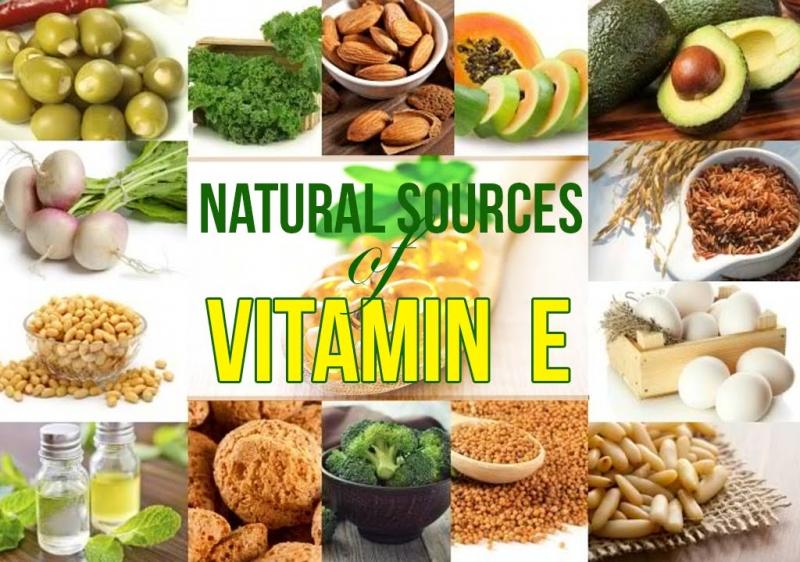 Bổ sung vitamin E tự nhiên từ nhóm thực phẩm trên