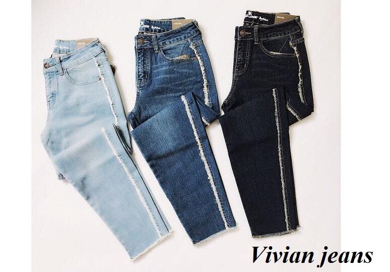 Vivian Jeans là địa chỉ bạn có thể tìm thấy những chiếc quần jeans VNXK với chất liệu vải tốt